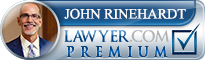 John Rinehardt Lawyers.com Premium Badge