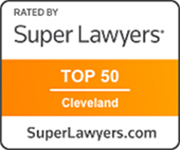 SuperLawyers Clevland top 50 logo