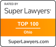 SuperLawyers Clevland top 100 logo