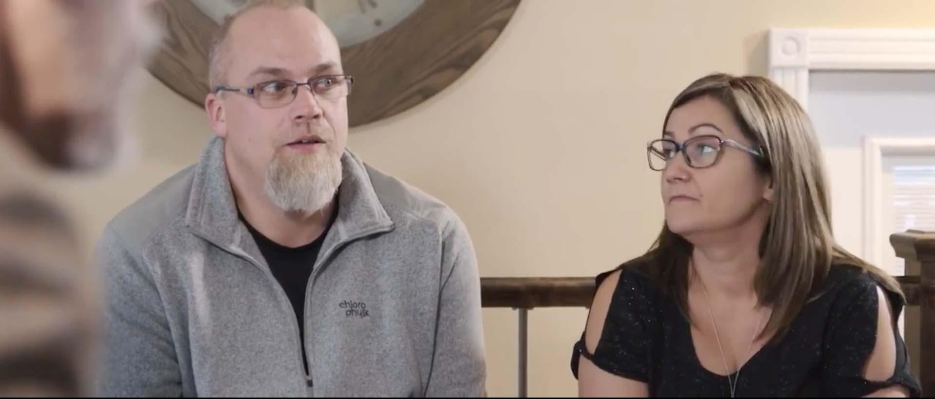 Testimonial video snapshot